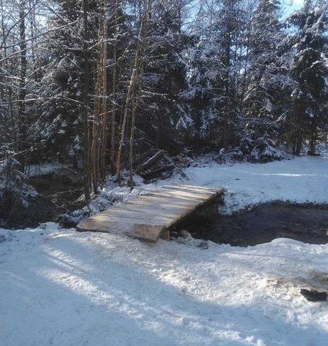 Rekonštrukcia dreveného mostíka